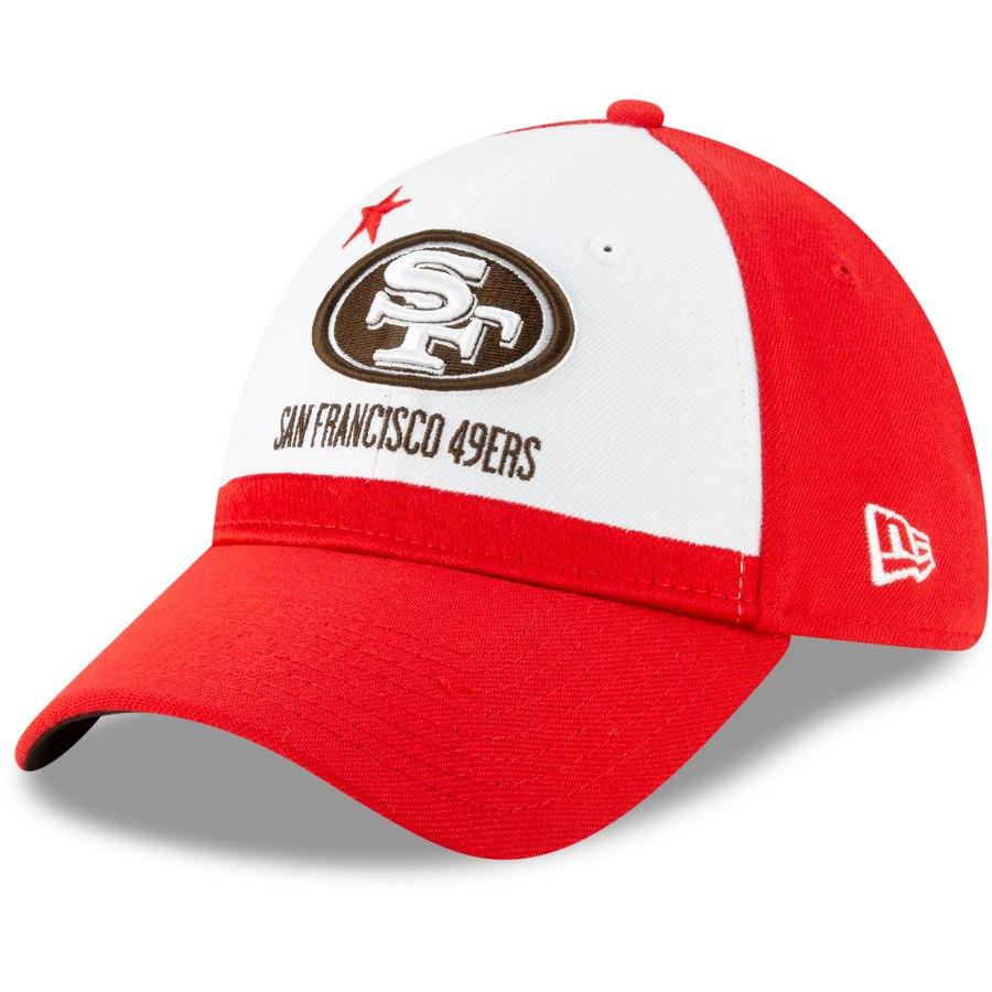 half off b2598 e864c San Francisco 49ers New Era 2019 NFL Draft Spotlight 39THIRTY Flex Hat –  White